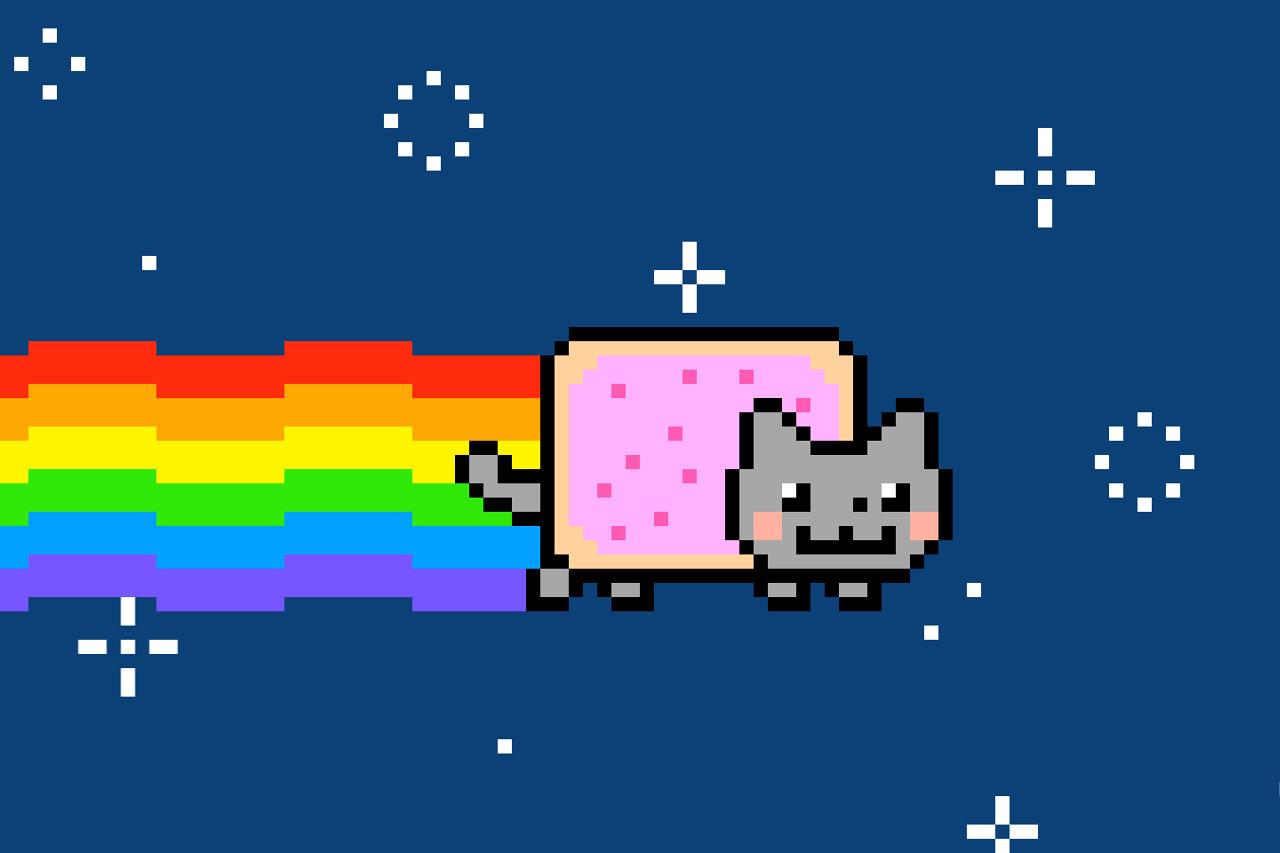 Nyan Cat meme NFT