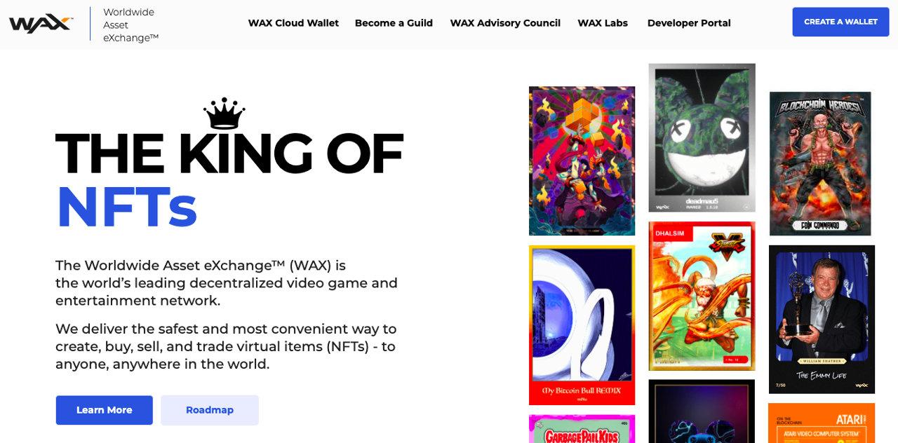 WAX NFT marketplace